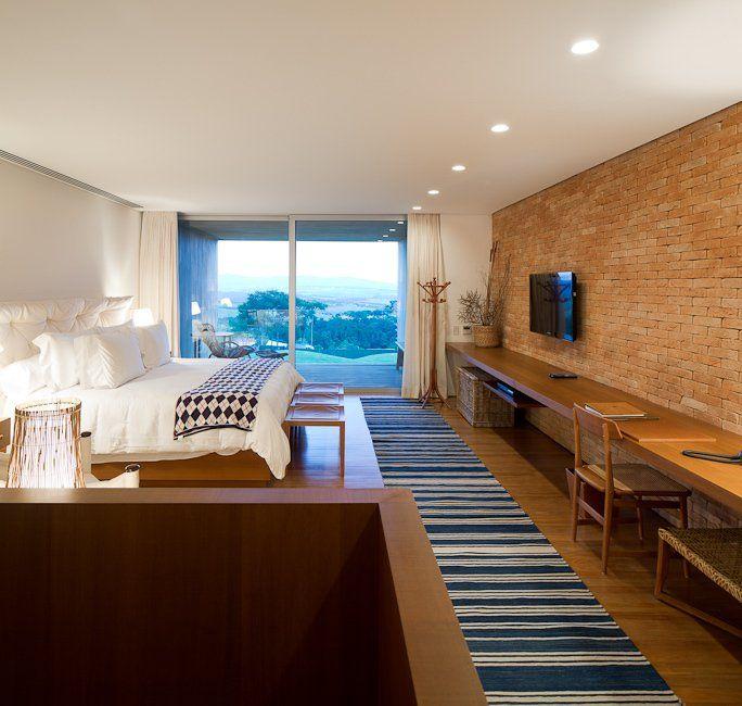 Isay Weinfeld has designed the Fasano Boa Vista Hotel in São Paulo, Brazil.