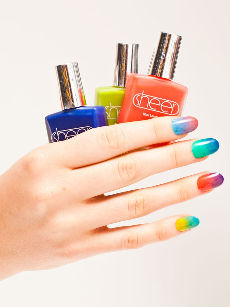 "Sheer Nail Polish | American Apparel, ""watercolor"" nails, cruelty free, etc.  http://store.americanapparel.net/nailpoliss.html?c=Pacific%20Beach#"