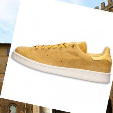 Non esitate, non vaghi, ridurre i prezzi per Scarpe da Tennis Adidas Uomo Stan Smith Giallo! Prezzo in su!