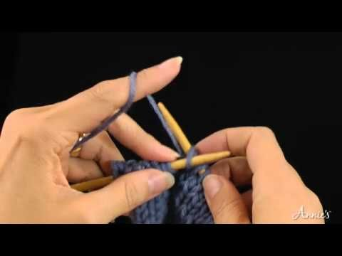 Knit in Front and Back of the Stitch (kfb) How to Increase: Learn how to knit the kfb stitch with this free video from AnniesCatalog.com.