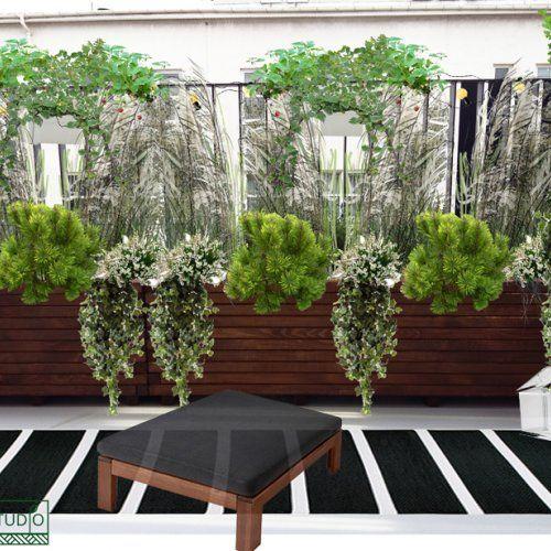 Balkon w mieście - zielono nam!