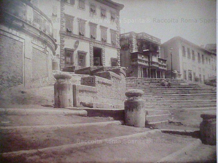 Gradinate del Porto di Ripetta Anno:1875 'ca
