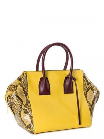 Stella McCartney-cavendish faux python handbag-borsa cavendish stampa pitone