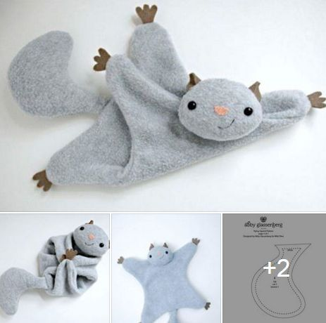 Cute way to do a squirrel lovey