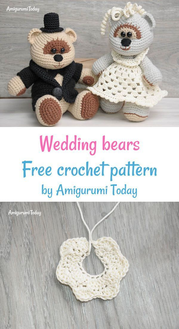 Christmas Cuddle Me Bear crochet pattern - Amigurumi Today | 1101x600