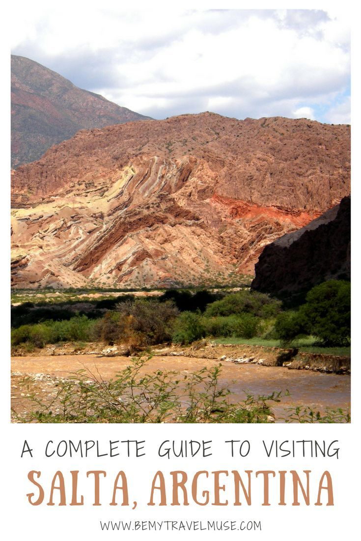 A complete guide to visiting Salta, Argentina including top destinations such as Salinas Grandes, Jujuy, the Cerro de Siete Colores (Hill of Seven Colors) and more + practical tips for your trip. | Be My Travel Muse #Salta #Argentina