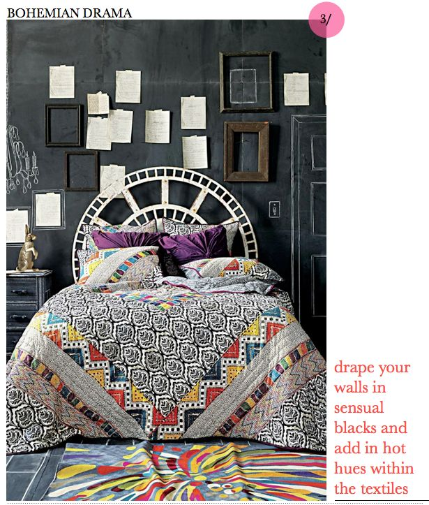 Could I make a quilt?! I do love a mod-ish quilt!