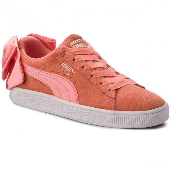 a6728a2b588b Sportcipő PUMA - Suede Bow Jr 367316 01 Shell Pink/Shell Pink ...