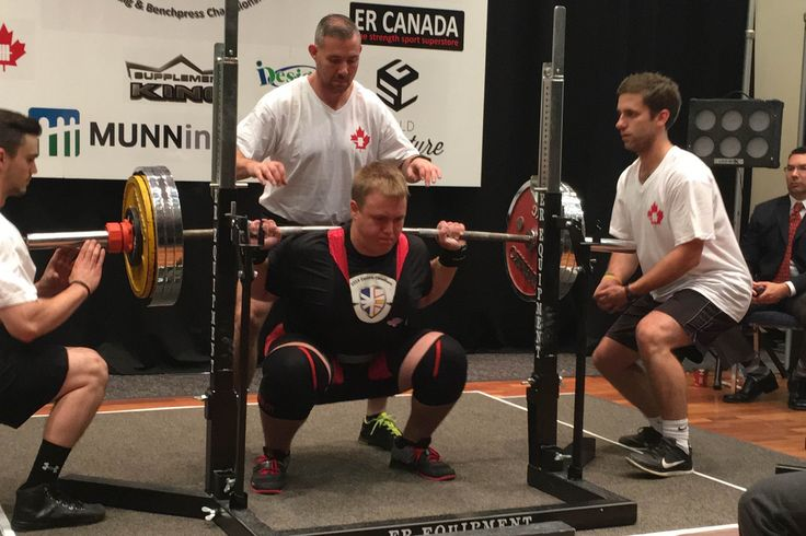 Dunville powerlifter sets national record - Sports - The Compass