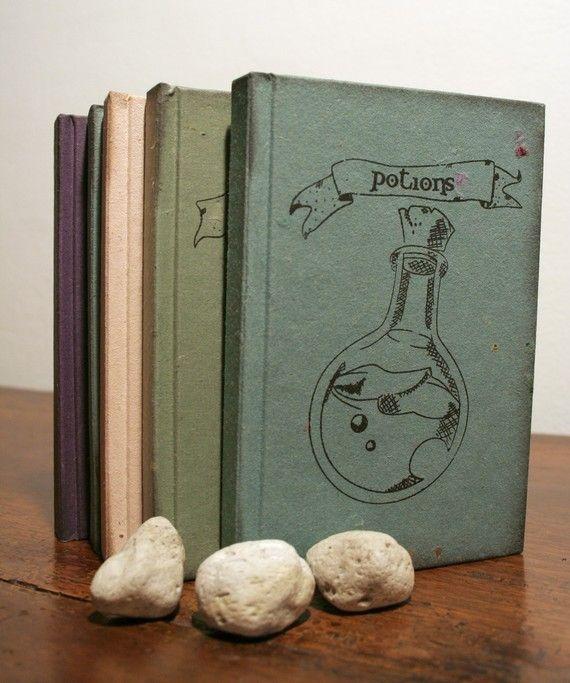 Hogwarts Classes inspired notebooks