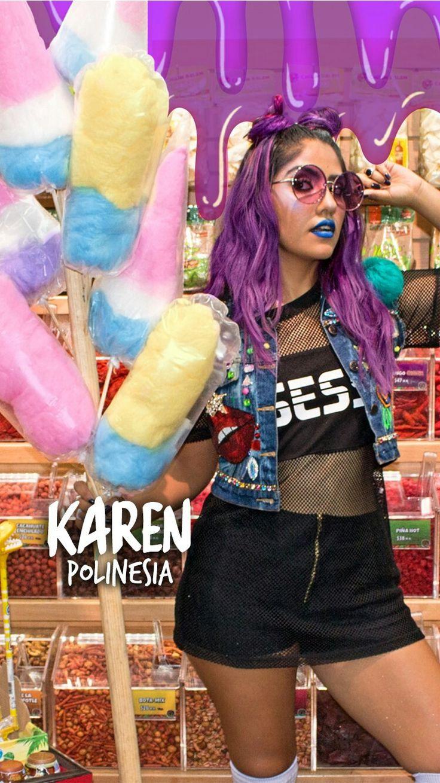 Karen con su estilo y cariño