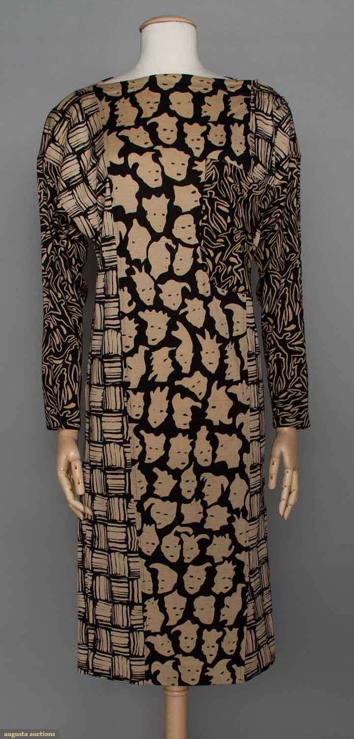 Printed Missoni Dress, C. 1980, Augusta Auctions, April 9, 2014 - NYC, Lot 93