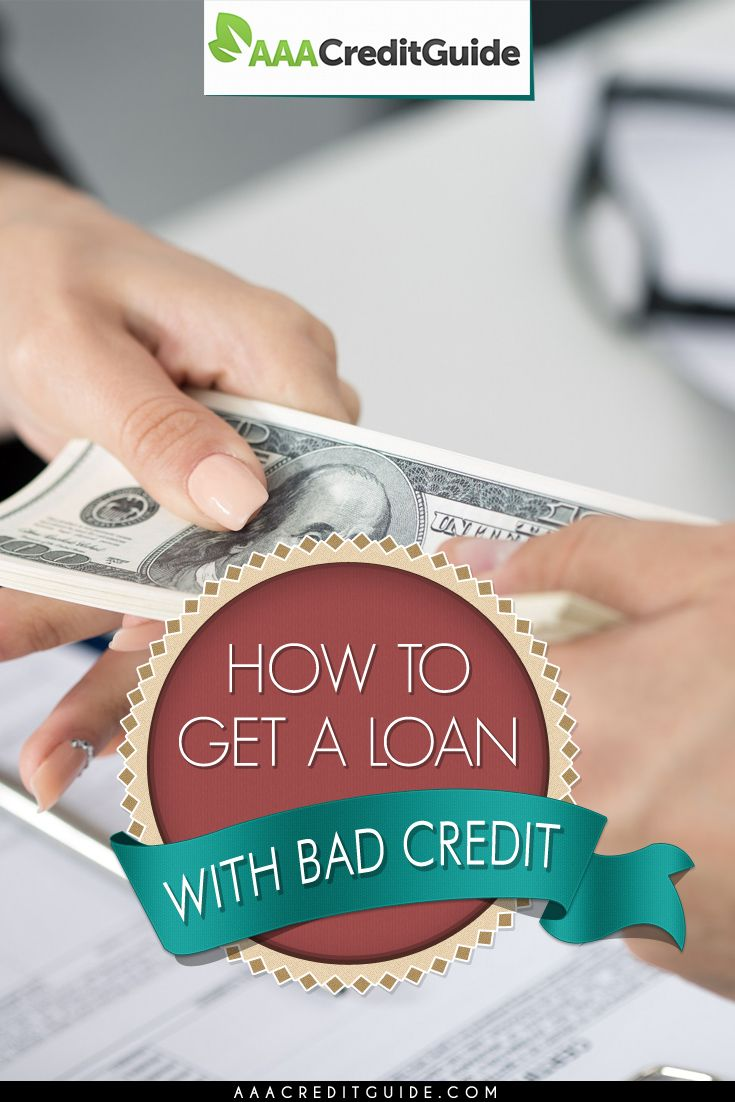 Having bad credit makes it more difficult to get a loan but not impossible