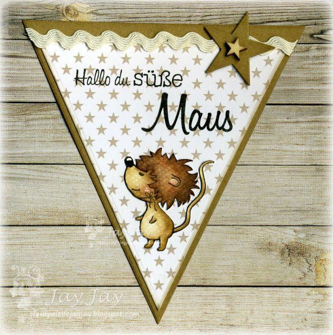 Kulricke Maus Clear Stamps, Kulricke Wimpel Stanzen, Kulricke Nesting Stars Stanzen, Kulricke Designpapier