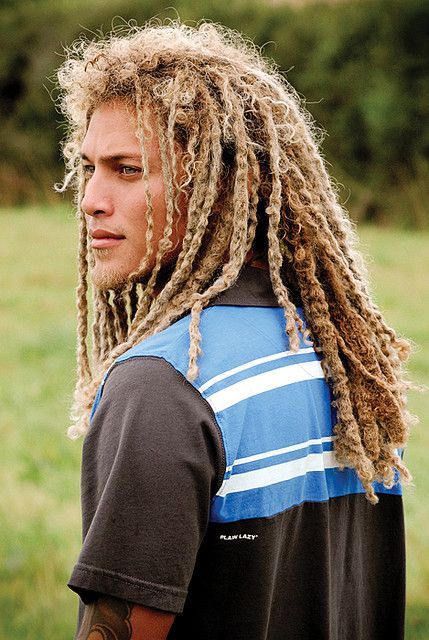 Blonde Dreads, Long Hair Styles Men