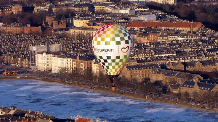 Ballonflyvning. Flyv en tur i luftballon - Oplevelsesgaver.dk a/s