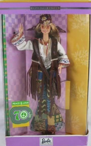 55 Collector Edition Peace And Love 70 S Barbie Doll