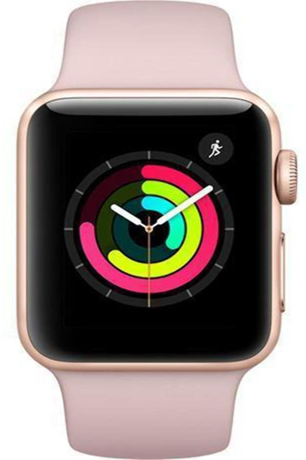 Apple Watch Series 3 Gps Gold Aluminum Case With Pink Sand
