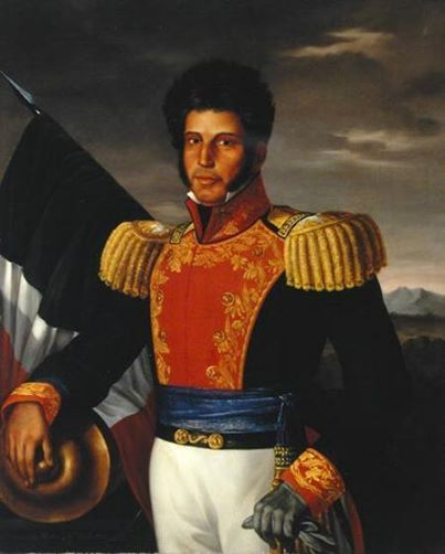Vicente Guerrero, Revolutionary General in the Mexican War of Independence against Spain, First Black (Afro-Mexican) President in North America