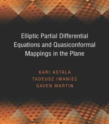 Elliptic Partial Differential Equations And Quasiconformal Mappings In The Plane PDF