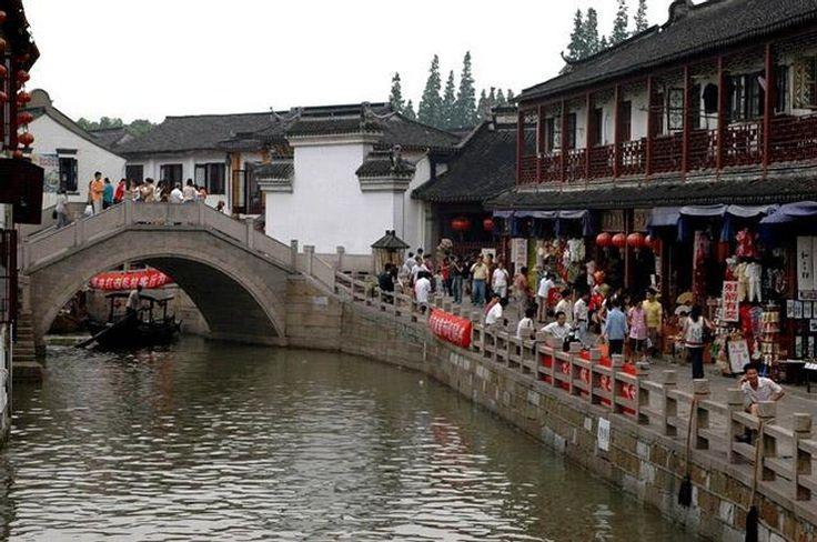 Chiny, kolejna chińska Wenecja czyli ZhuJia Jiao