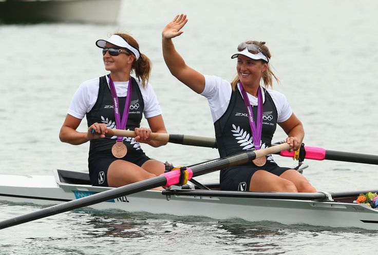Juliette Haigh and Rebecca Scown - Rowing Women's pair Bronze (c) Getty Images
