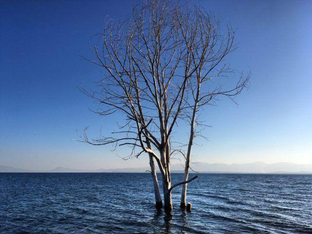 Lake Sevan, Armenia.