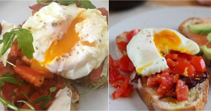 Cómo hacer huevos pochados perfectos, ¡paso a paso!