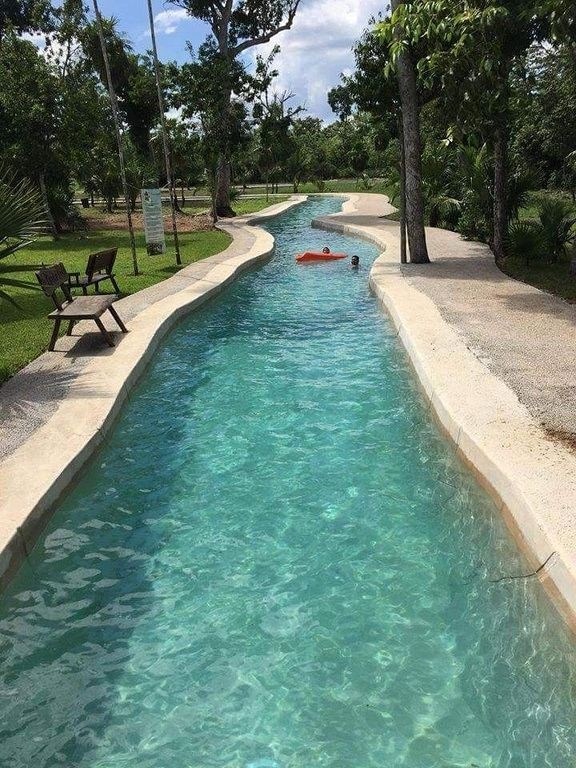 Amazing Lazy River Swimming Pool Design And Ideas For