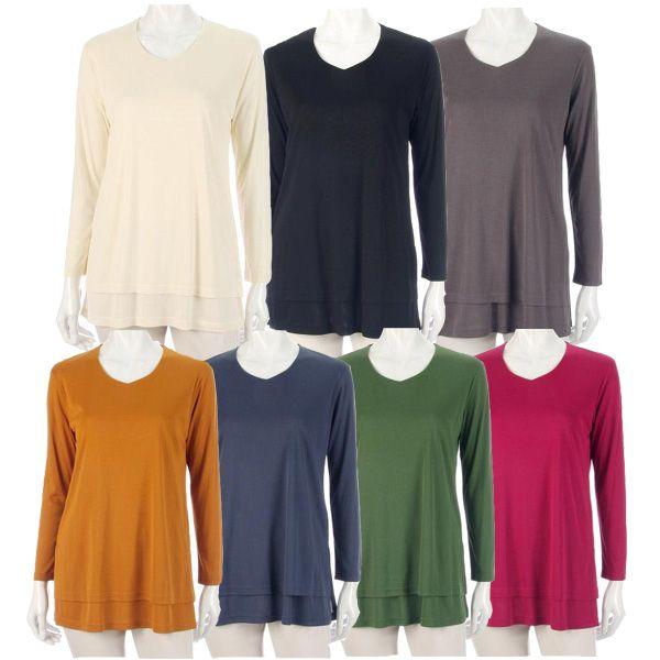 【ゆうメール配送可能】ウレシイ日本製!着丈が長くヒップラインをカバーできるデザインです。