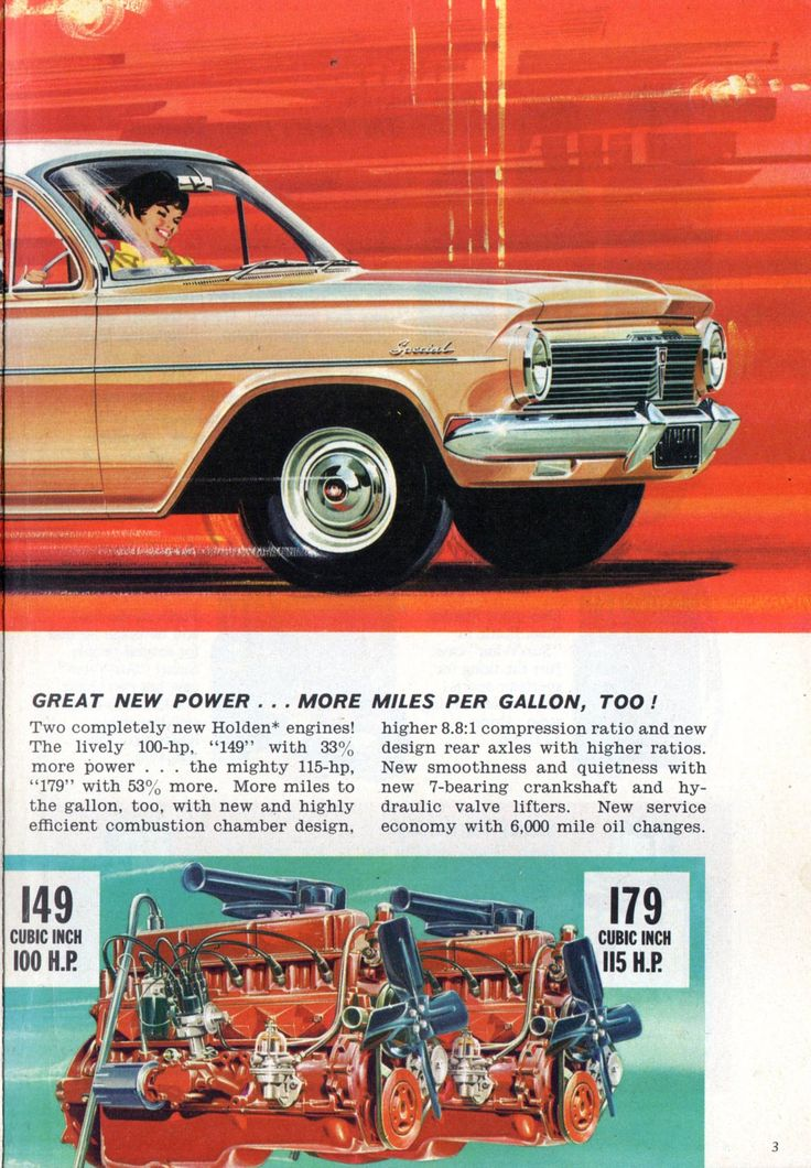 https://flic.kr/p/JFHh9B | 1964 EH Holden Special Sedan 149 cu in 179cu in Six Cylinder Page 2 Aussie Original Magazine Advertisement