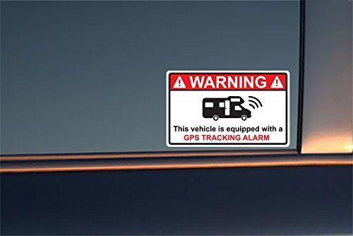 4 Stickers Alarme Camping Car – GPS TRACKING ALARM: Zone-Stickers fabrique des stickers autocollants tous formas de haute qualités en…