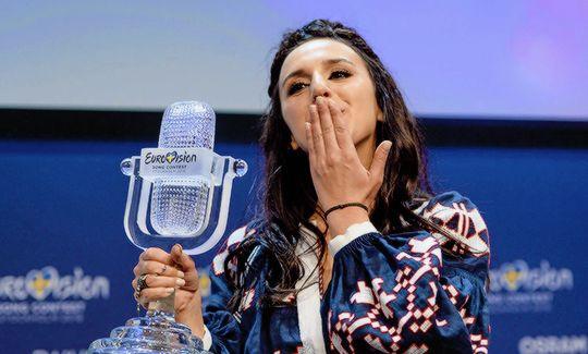 "sashosasho: """"Jamala (Ukraine) is the winner of the Eurovision Song Contest 2016 "" """
