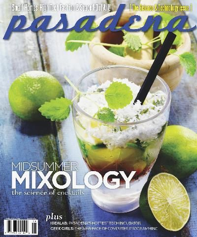 I like the composition of this one and how the straw starts at the end of the magazine title and leads the eye down to the feature article topic.