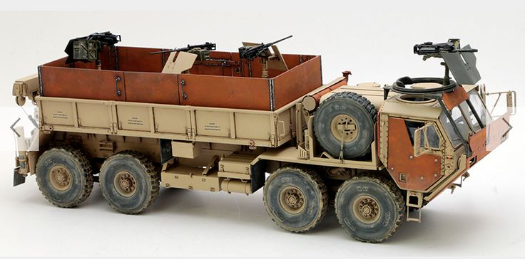 Italeri HEMTT Gun Truck 1:35 Scale plastic model Kit only £29.99 + P&P