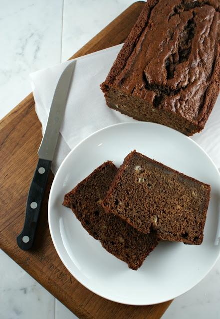 Authentic Suburban Gourmet: Chocolate Banana Bread