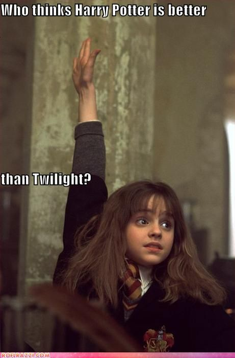 Harry Potter wins.....hahahahahahhhhhhhhhhhhhhhhhhaaaaaaaaaaaaaaaa this is great!