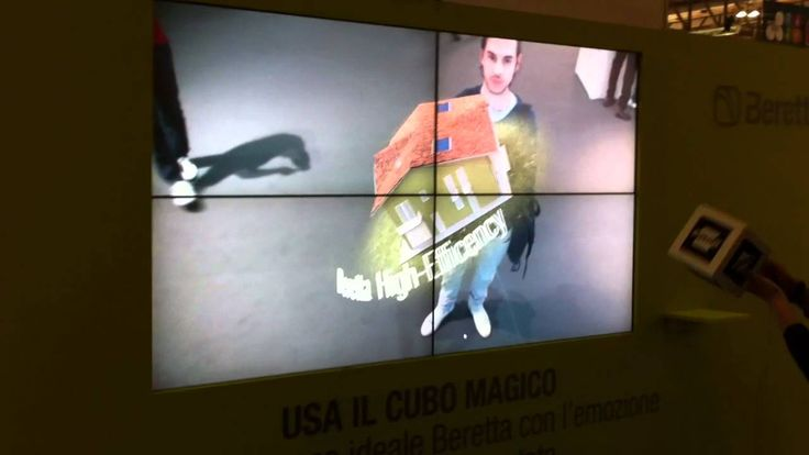 House in augmented reality for Beretta.