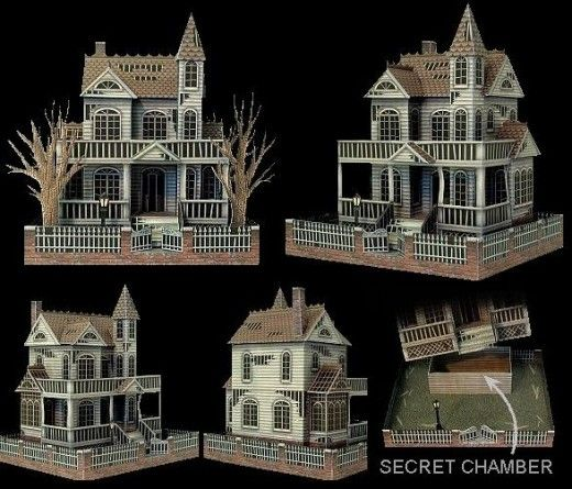 Jaw-dropping Halloween paper models that you can build yourself                                                                                                                                                     More
