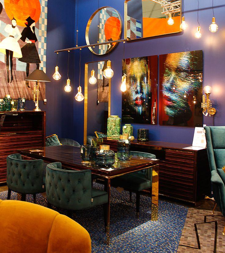Salon Maison Et Objet 2018 Cosmopolite Spontanee Pleine D Humour Et Absolument Folle De Deco Kare Design Est La Reference Blue Decor Design Dreamy Designs