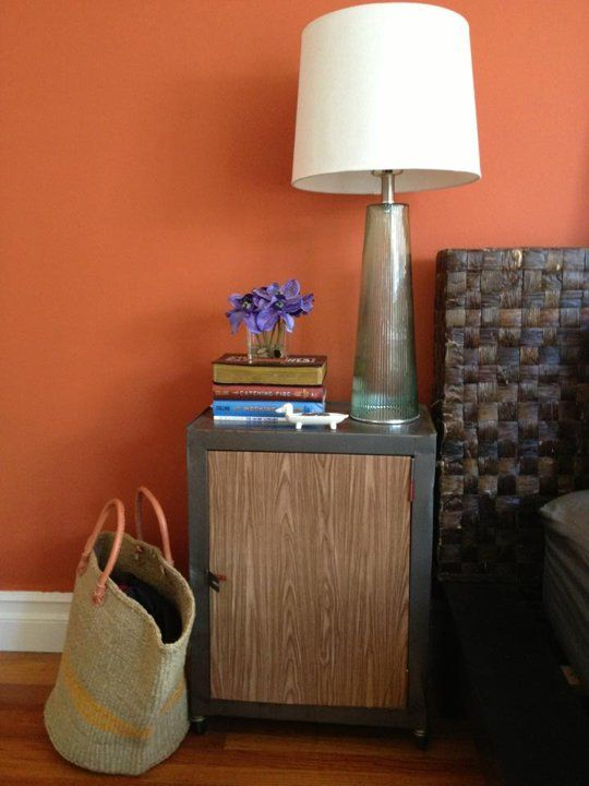 "Warm Orange Paint Colors rox's ""texas, meet california"" room~~ warm orange wall color"