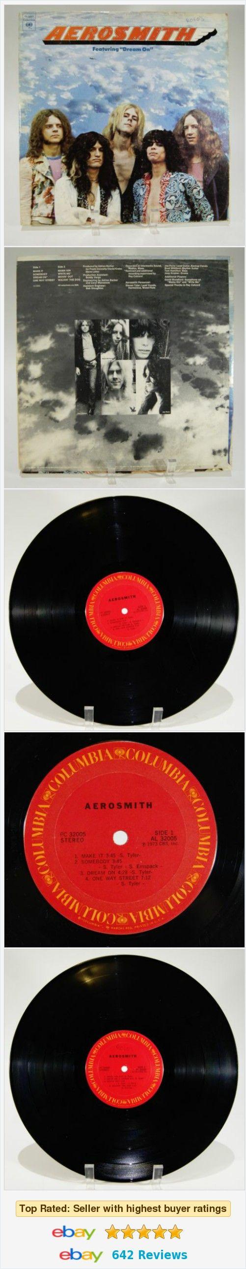 Aerosmith- Aerosmith Album LP Vinyl Record 1976 PC32005 Columbia Vintage  | eBay