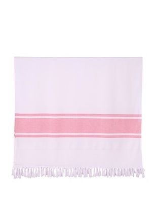 50% OFF Nine Space Ayrika Collection Extra-Soft Terry Fouta Towel (Red)