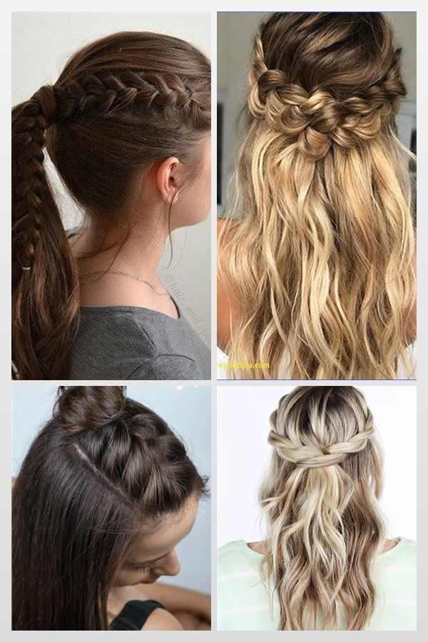 New Cute Back To School Hairstyles For 7th Grade Hairstyles For School Back To School Hairstyles Hair Styles