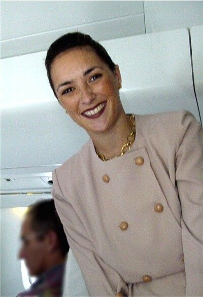 Air France Concorde Air Hostess