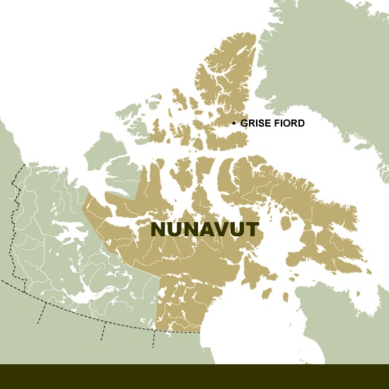 resolute nunavut map