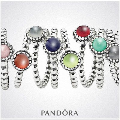 Pandora Rings - to match my new earrings
