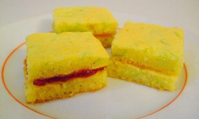 Cuketové dortíčky s marmeládou