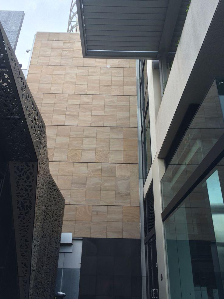 Sandstone tiles wood like texture