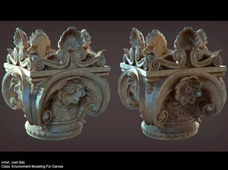 Game Arts Institute – Josh Ball Environment Modeling For Games